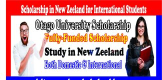 Otago University Scholarship
