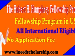 The Hubert H. Humphrey Fellowship Program