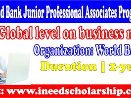 World Bank Junior Professional Associates Program