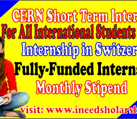 CERN Short Term Internship