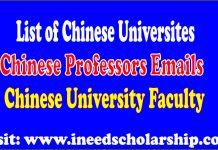 List of Chinese University
